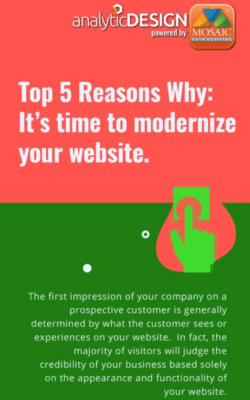 download 5 reason to modernize your website