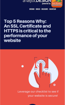 ssl certificate, Top 5 Reasons Why:<br> An SSL Certificate and HTTPS is critical to the performance of your website