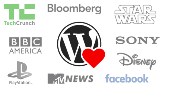 big name brands using WordPress