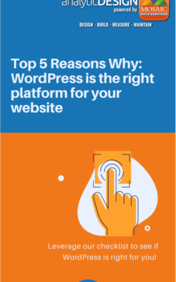 WordPress is the right platform for your website