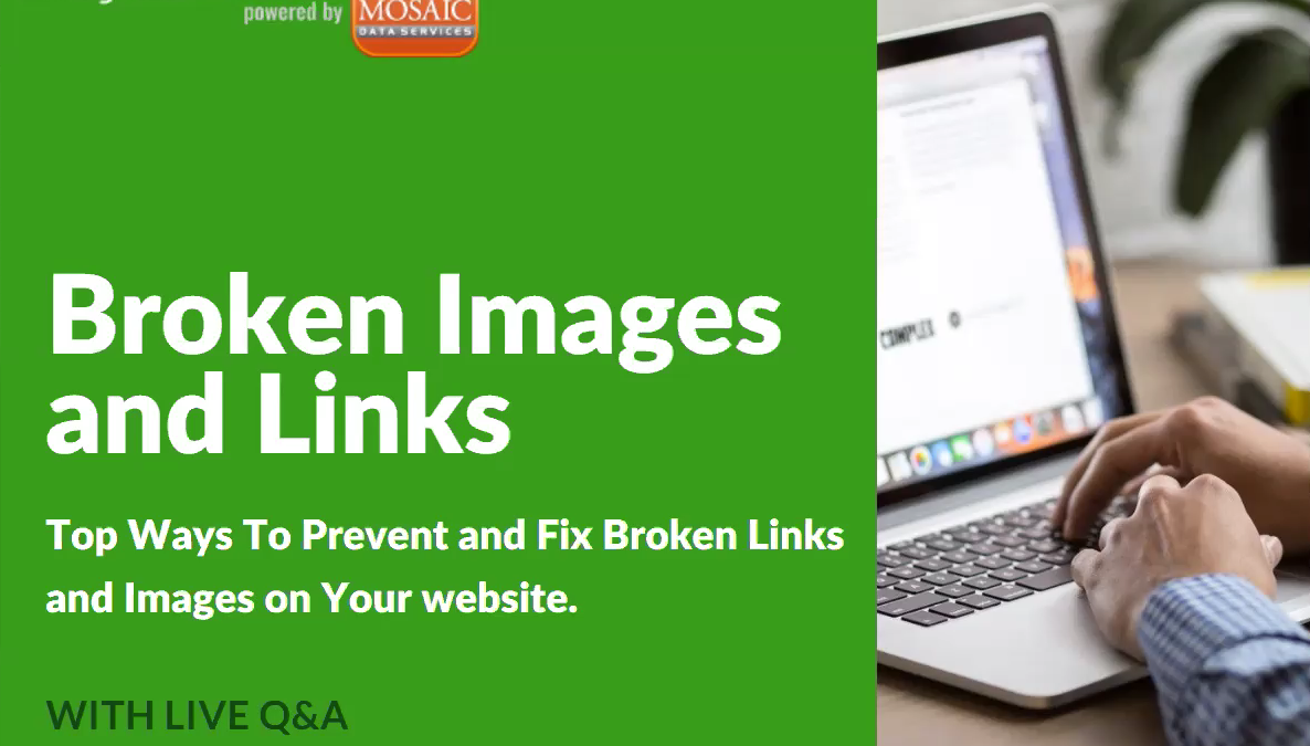 broken links webinar