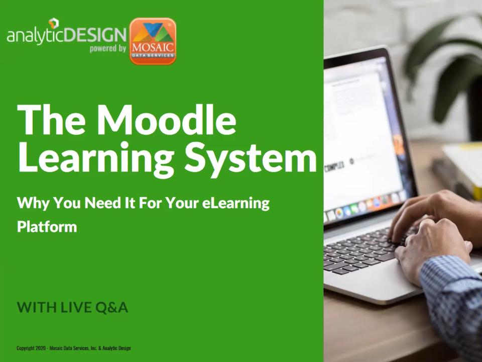 Moodle LMS webinar